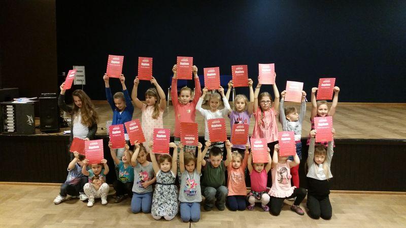 ŁUKOWSKI OŚRODEK KULTURY: zajęcia taneczne dla dzieci w roku 2014-2015